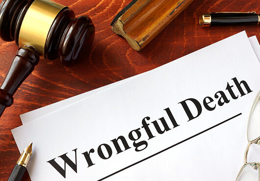 Document with title Wrongful Death